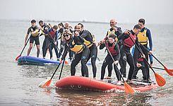 paddle géant kerguelen sports océan larmor-plage