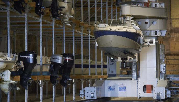 automate  Port à sec Lorient