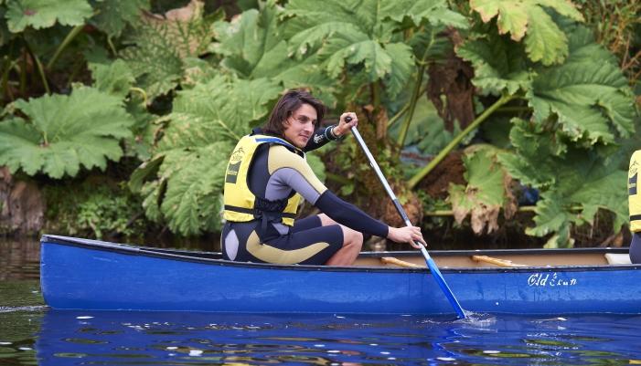 canoë-kayak en eau vive