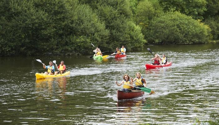 Randonnée canoë-kayak à Lorient