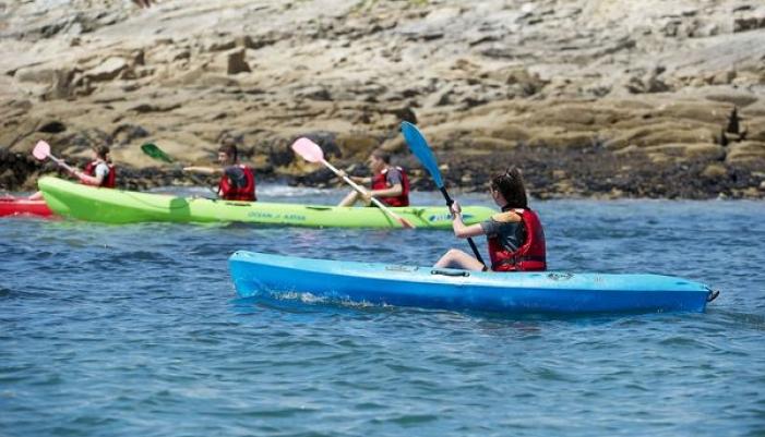 Faire du kayak à Lorient