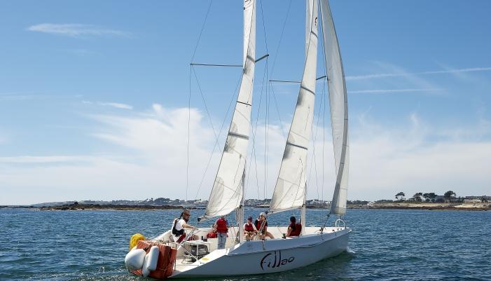 Balade en mer sur la rade de Lorient