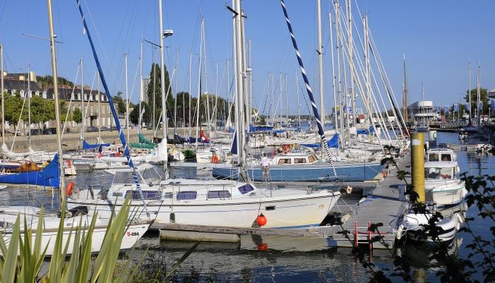 Escale au port de Lorient