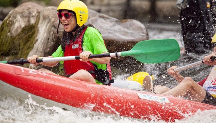Stage en kayak au Parc d'eau Vive