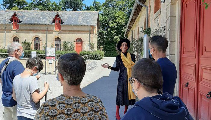 clémence de clamard en visite au Haras d'Hennebont