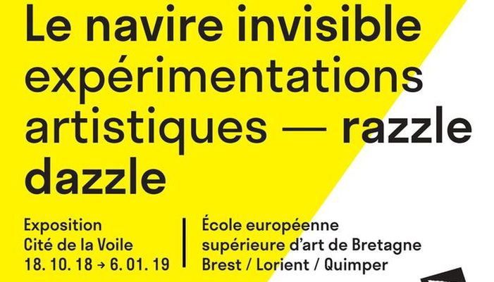 affiche exposition navire invisible