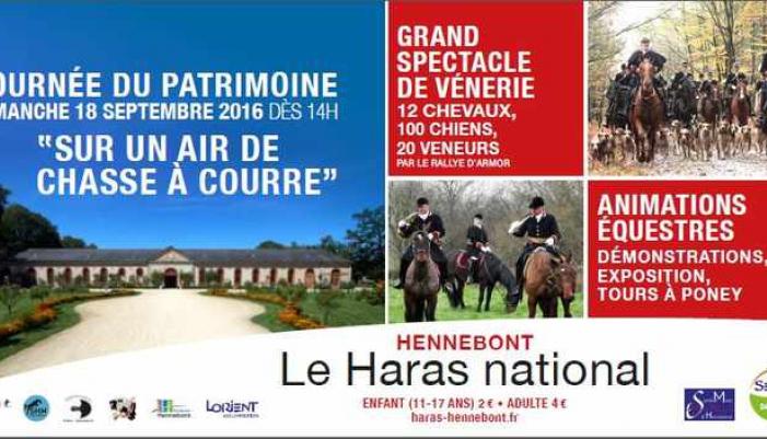 journée du patrimoine au haras d'Hennebont