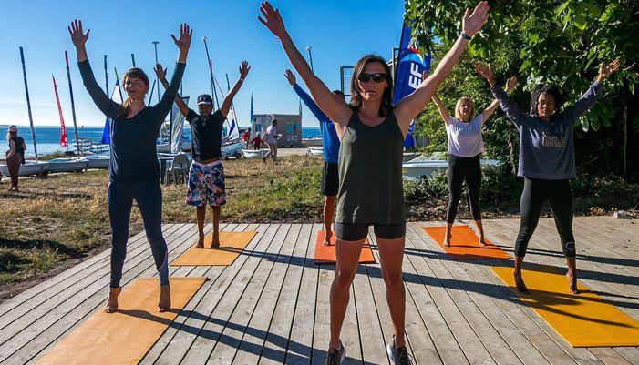 Activité Pilates à Larmor-Plage