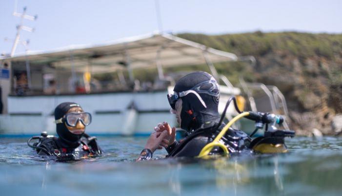 Exploration plongée à Groix